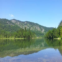 Photo taken at Almsee by Christoph J. on 7/27/2013