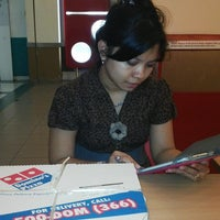 Photo taken at Domino's Pizza by Diana E. on 6/28/2013