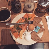 Photo taken at Le Pain Quotidien by Katlyn R. on 1/4/2015