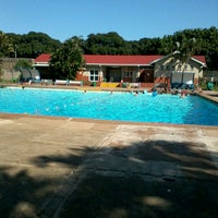 Photo taken at Tesoriere Swimming Pool by (G)AREE(B) on 2/25/2013