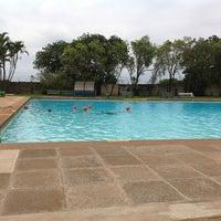 Photo taken at Tesoriere Swimming Pool by (G)AREE(B) on 1/22/2013