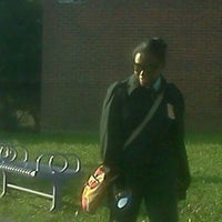 Photo taken at Martin Luther King High School by Roberta H. on 11/12/2012