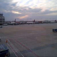 Photo taken at Concourse B by Sandis S. on 3/9/2013