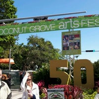 Photo taken at Coconut Grove Arts Festival by Mil V. on 2/17/2013