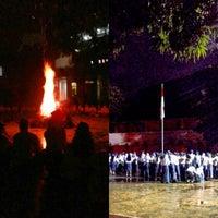 Photo taken at SMA Negeri 1 Medan by Bambang N. on 10/19/2013