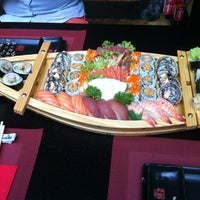 Photo taken at Ocean Sushi by Elke D. on 7/20/2013