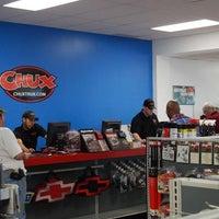 Photo taken at Chux Trux by Chris R. on 11/22/2013