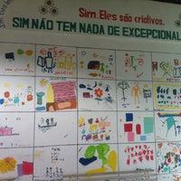 Photo taken at APAE - Associação de Pais e Amigos dos Excepcionais by Suzy C. on 5/17/2013