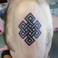 Photo taken at Kustom Kulture Tattoo Studio by Allan B. on 2/6/2014