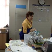 Photo taken at Почта России 107078 by Sergei K. on 4/12/2013