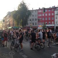 Das Foto wurde bei Critical Mass Berlin von Gloria C. am 7/29/2016 aufgenommen
