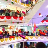 Photo taken at Kumar Pacific Mall by Abhijit N. on 10/19/2014