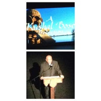Photo taken at Irvington Town Hall Theater by Kiana B. on 5/22/2014