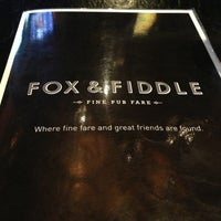 Photo taken at Fox & Fiddle by Andrew S. on 10/28/2013