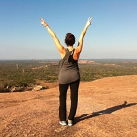 Photo taken at Enchanted Rock State Natural Area by Alexis P. on 10/21/2012
