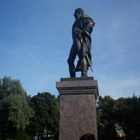 Photo taken at Памятник Багратиону by Igor A. on 9/22/2012