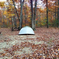 Photo taken at Oak Ridge Campground | Prince William Forest Park by Lotta D. on 11/2/2013