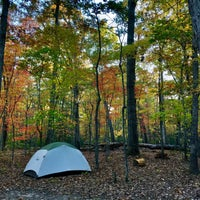 Photo taken at Oak Ridge Campground | Prince William Forest Park by Lotta D. on 10/23/2015