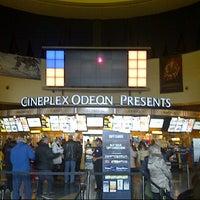 Photo taken at Cineplex Cinemas Queensway & VIP by Christine K. on 3/3/2013
