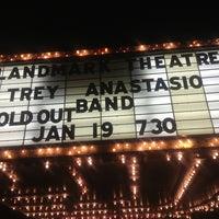 Photo taken at Landmark Theatre by Kathryn C. on 1/20/2013