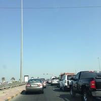 Photo taken at جسر الحوادث معقل الجن by Mona L. on 11/6/2012