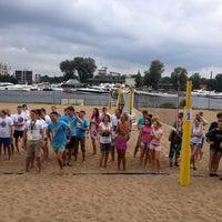 Photo taken at Elagin Volleyball Beach Resort by Anuta💋 E. on 8/9/2013