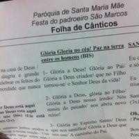 Photo taken at Igreja de São Marcos by Thayse O. on 4/26/2014