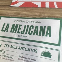 Photo taken at La Mejicana Pizzeria Taquería by Luis L. on 3/19/2016
