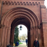 Photo taken at Smithsonian Institution Building (The Castle) by Ashley W. on 11/18/2012