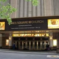 Photo taken at Times Square Church by Jeffin T. on 2/24/2013