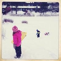 Photo taken at Kanervapuisto by Anssi K. on 12/16/2012