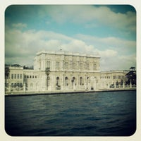 Photo taken at Dolmabahçe Palace by Marko S. on 1/2/2013