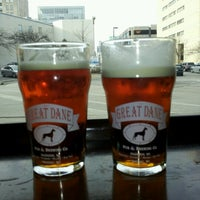 Photo taken at Great Dane Pub & Brewing Company by Spoon B. on 1/19/2013