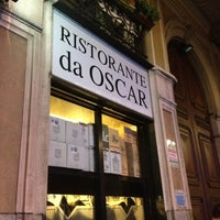 Photo taken at Ristorante Da Oscar by Paola M. on 12/8/2012