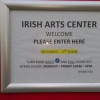 Photo taken at Irish Arts Center by Rudolph P. on 1/7/2016