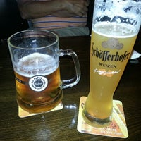 Photo taken at Heinrich's German Grill by K. K. on 3/21/2014