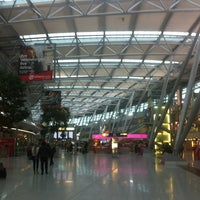 Photo taken at Dusseldorf Airport (DUS) by Andre G. on 1/29/2013