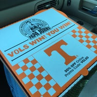 Photo taken at Papa John's Pizza by Kristen J. on 9/14/2015