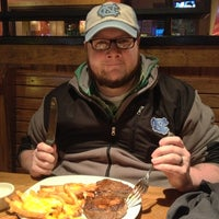Photo taken at Outback Steakhouse by Kristen J. on 1/24/2013