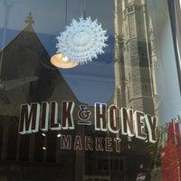 Photo taken at Milk & Honey Market by Ashley D. on 2/24/2013
