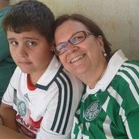 Photo taken at Estádio Doutor Adhemar Pereira de Barros (Arena da Fonte) by Luiza P. on 11/4/2012