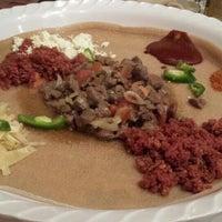Photo taken at Meaza Restaurant & Market by Olena P. on 7/3/2015