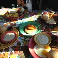 Photo taken at The Flying Biscuit Cafe by Cyndi Z. on 1/19/2013