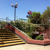 Photo taken at Metro Santa Isabel by Pauli M. on 3/4/2013