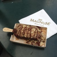 Photo taken at Magnum Ice Cream At Bryant Park by Khalid on 8/17/2013