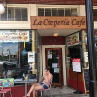 Photo taken at La Creperia Cafe by Chad E. on 8/18/2013