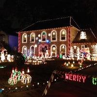 photo taken at prestonwood forest neighborhood by samantha m on 12212013 - Prestonwood Forest Christmas Lights