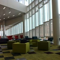 Photo taken at James B. Hunt Jr. Library by Donna E. on 1/6/2013
