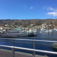Photo taken at Avalon Harbor by Travis P. on 10/11/2016