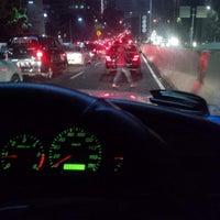 Photo taken at Jalan Layang Non Tol Kp. Melayu - Tanah Abang by Tanhar M. on 4/18/2014